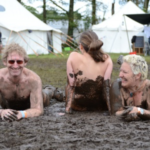 Mud has a peculiar affect on people+