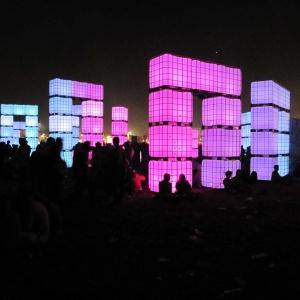 Cube Henge, Glastonbury 2010
