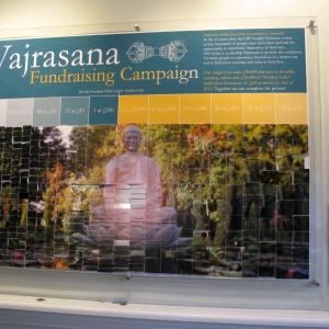Vajrasana fundraising campaign