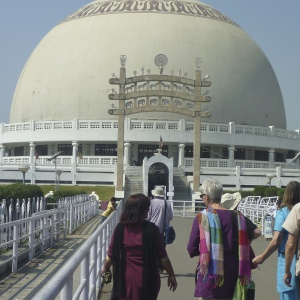 Group visit to Diksha Bhumi