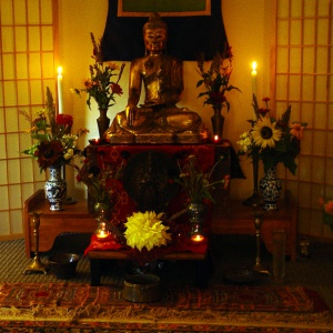 Shrine created by Danakamala