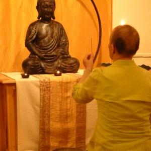 Marianne & Buddhastatyn