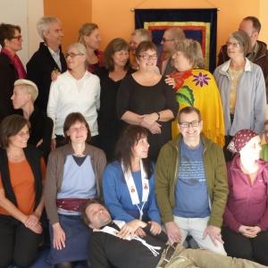 bild på deltagare på The art of reflection retreaten