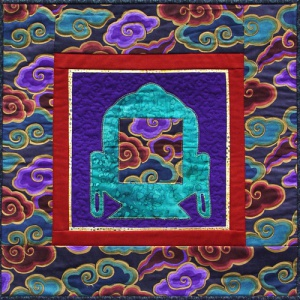 The Stitch-fold Path: Coloring the Buddha - Akashavanda