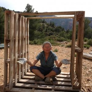meditation hut ...