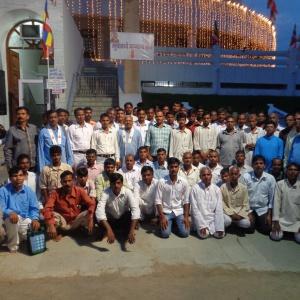 43 RAVIDASI PEOPLE FROM BIHAR VISITED TO DEEKSHABHOOMI.