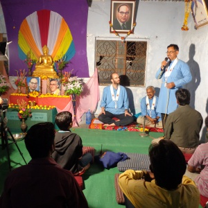 master of ceremony dh.Buddharatna.