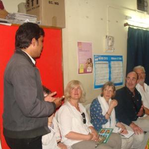 Aryaketu explaining about the work of ACE