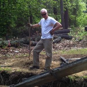 Rick Lee on site