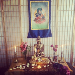 Portsmouth Buddhist Center shrine