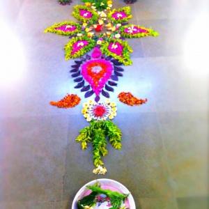 Flower mandala 3