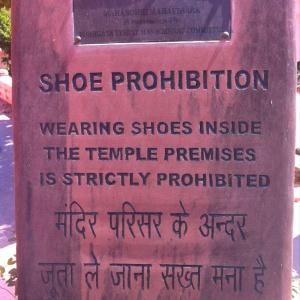 Shoe prohibition