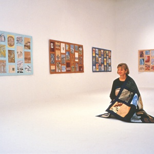 Kiranada at her 'Kesa Installation'