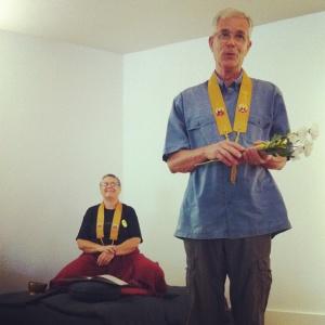 Presenting Sangharakshita's offerings