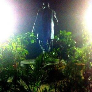 Dr. Ambedkar all lit up