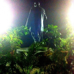 Dr. Ambedkar all lit up