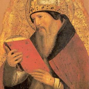 Saint Augustine...