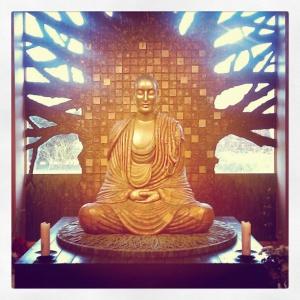 Padmaloka Buddha by Kusalananda