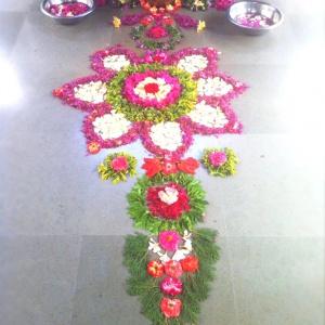 Flower mandala 4