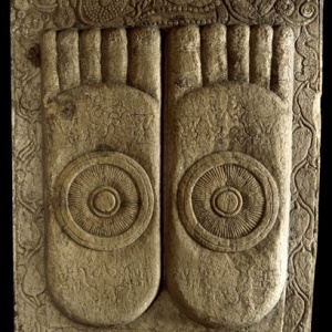 Buddha's footprints (V & A Museum)
