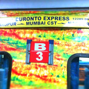 Duronto Express Crayon!