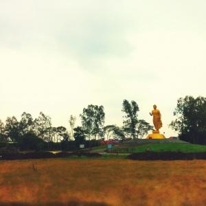 The Great Walking Buddha