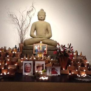 The shrine at Adhisthana