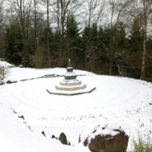 Snowy Stupa at Vimaladhatu