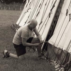 Tent fixing