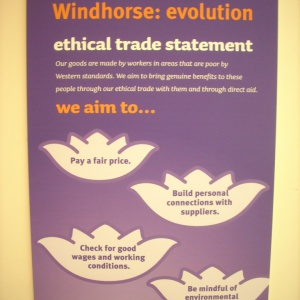 Windhorse:evolution's ethical trade statement