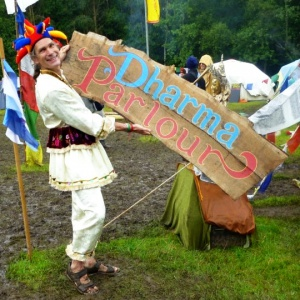 The Buddhafield Festival's Dharma Parlour
