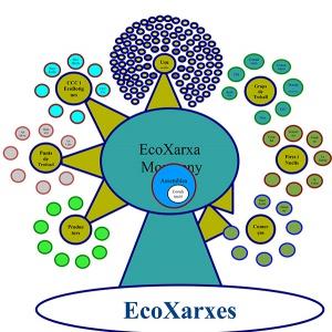 EcoXarxa's structure