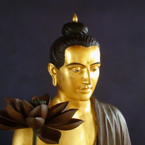 Buddha at the Essen Buddhist Centre, Germany