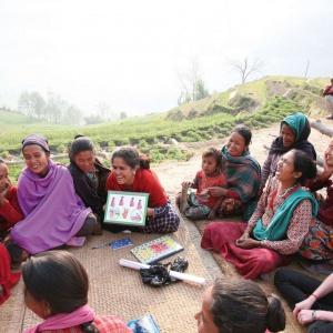 A Green Tara rural workshop