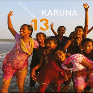Karuna's 2013 Newsletter cover