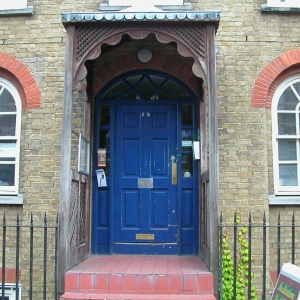 The North London Buddhist Centre entrance