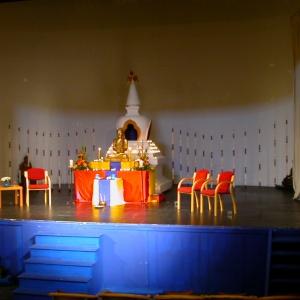 A shrine in the Festival Theatre