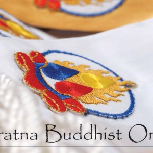 The Kesa of the Triratna Buddhist Order      (photo c. Alokavira, www.timmsonnenschein.com)