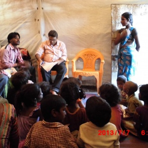 Meet with Parent and Children