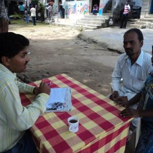 Timraj sharing progress