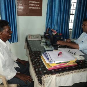 Tejadhamma with parent