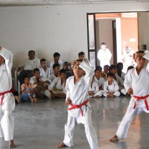 Demonstration for 8th Kyu exam