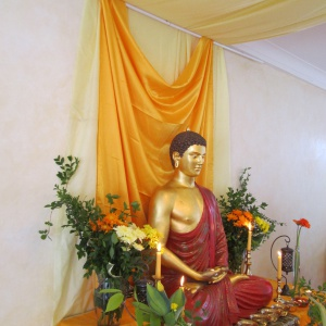 Buddha Day Shrine 2013