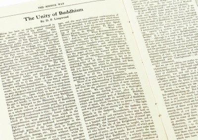 Sangharakshita's First Published Article