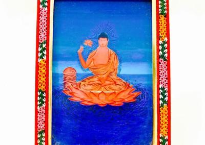 Amitabha Holding a Lotus