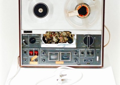 A Reel-To-Reel Recorder