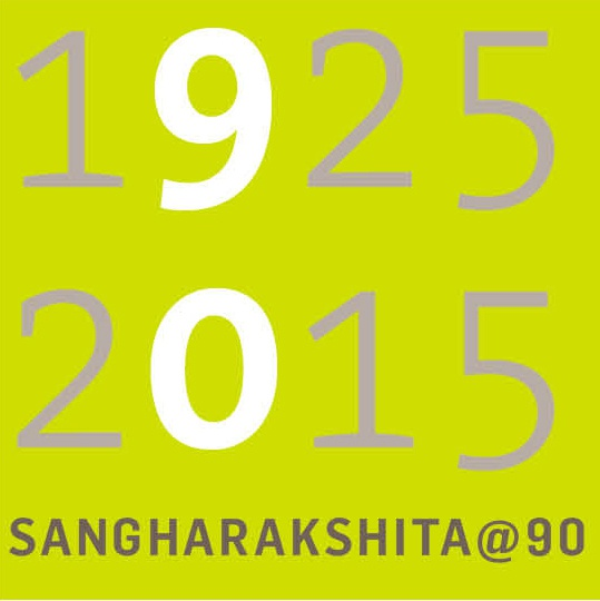 Sangharakshita@90 Logo