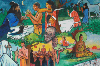 images from the Life of the Buddha